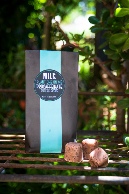 Milk Procaffeinate Coffee Scrub