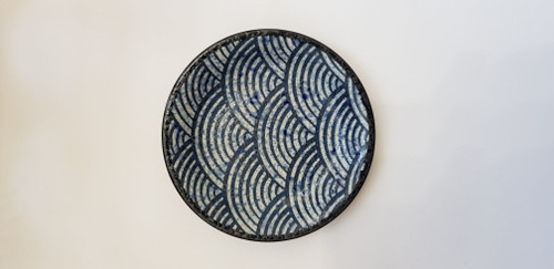 Japanese made ceramic side plate.