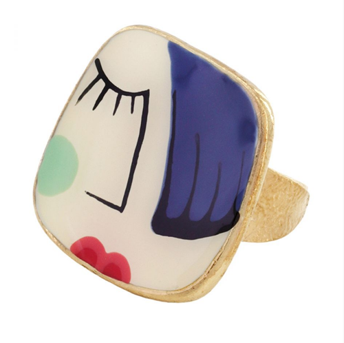 Face to Face Ring 08420-204