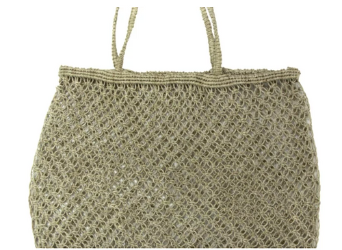Stylish Jute twine knitted bag perfect for shopping, trips to the market and for every day activities.