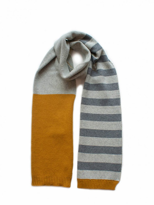 Scarf Block Stripe