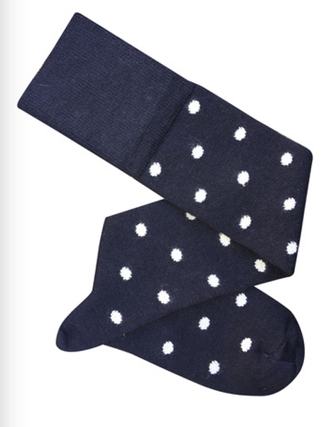 Dotty Knee High Socks