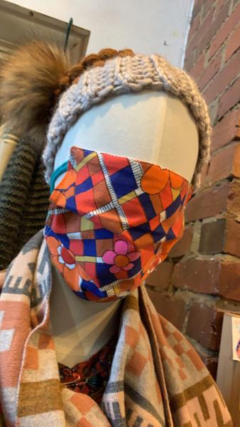 The Eliza -  Vintage Sheet Face Mask