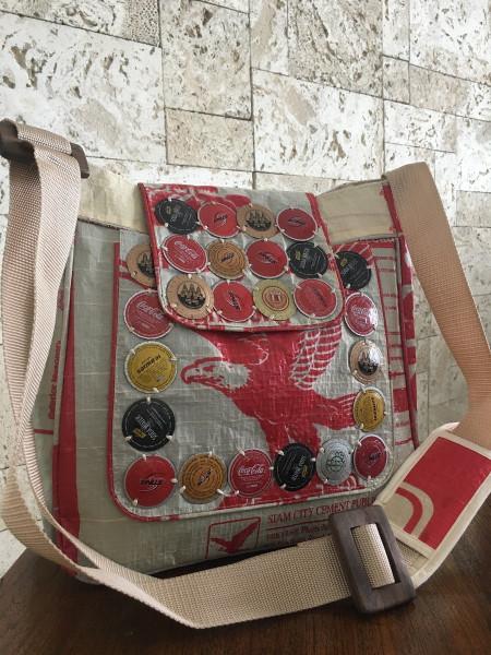 Recycled Soda Pop Shoulder Bag