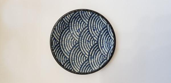 Japanese made ceramic side plate.