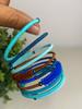 Telephone Wire blended Bracelet   - African Ocean
