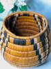 """Botswana Vintage Ukhamba Basket - 7.5"""""""