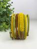 Telephone Wire blended Bracelet   - African Grassveld
