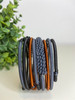 Telephone Wire blended Bracelet   - Pitch