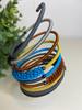 Telephone Wire blended Bracelet   - Storm