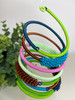 Telephone Wire blended Bracelet   - Lime