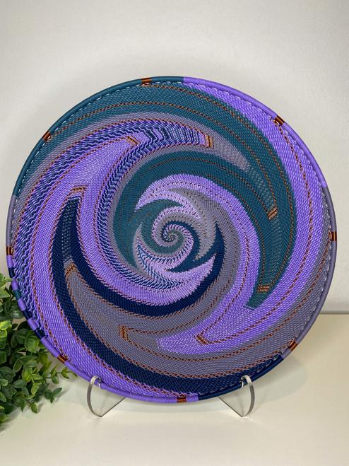 Large Open-V Plate - Purple
