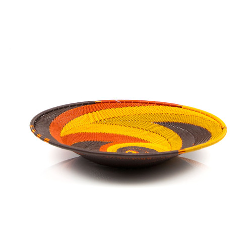 Medium Open-v Telephone Wire Plate - African Earth