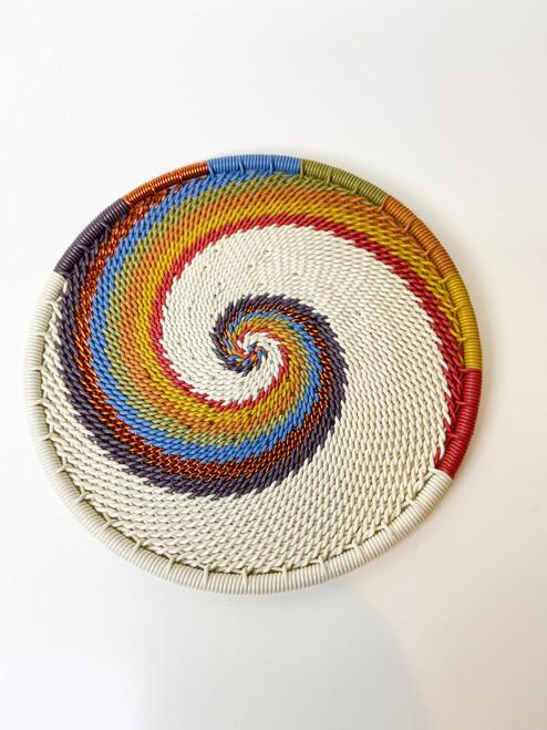 Telephone Wire Coaster - Mountain Rainbow