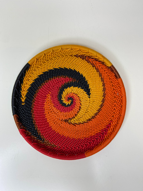 Telephone Wire Coaster - African Fire