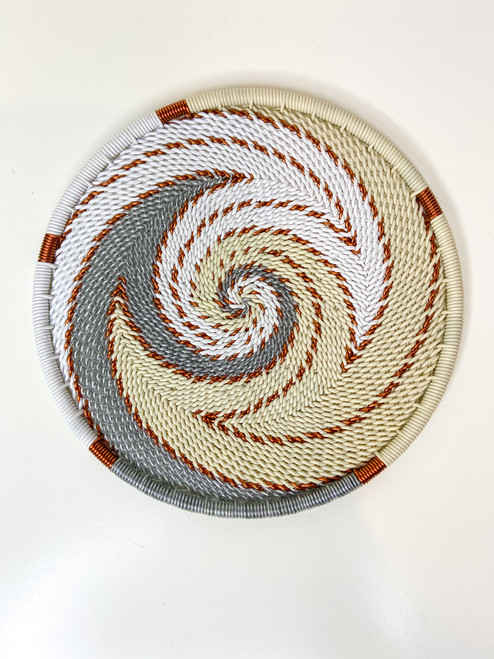 Telephone Wire Coaster - African Ivory