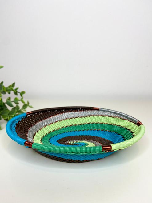 Telephone Wire Trinket Dish - African Fern