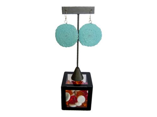 Telephone Wire Earrings - Ocean