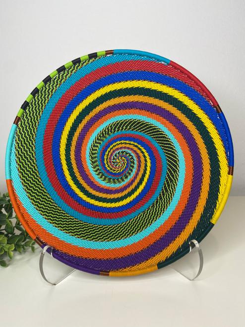 Medium  Open V Plate - Full Rainbow