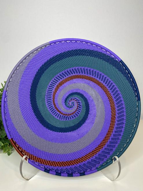 Medium Open-V Plate - Purple