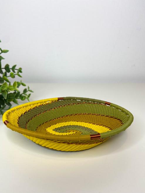Telephone Wire Trinket Dish - African Grassveld