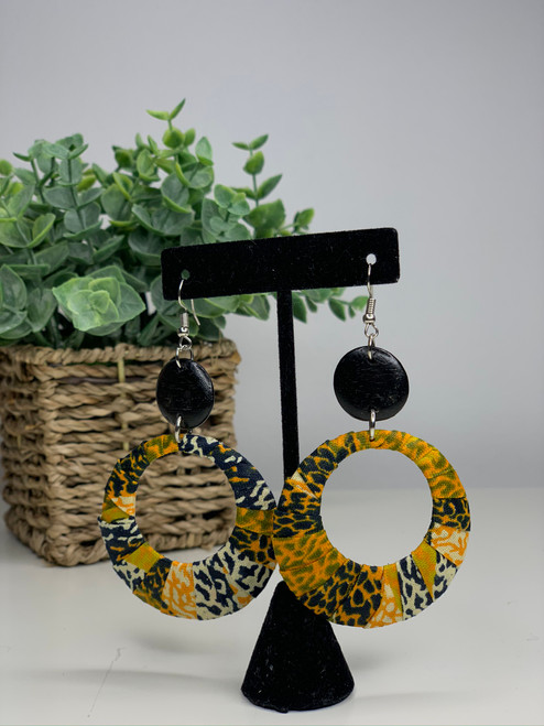 Ankara African Earrings - 003