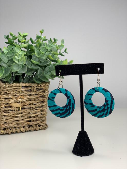Ankara African Earrings - 004