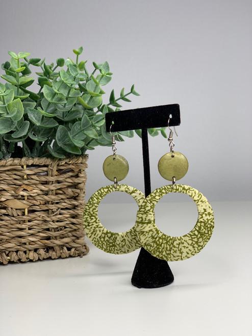 Ankara African Earrings - 012