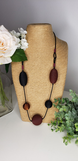 Telephone wire Necklace - Bad Blood w/ copper