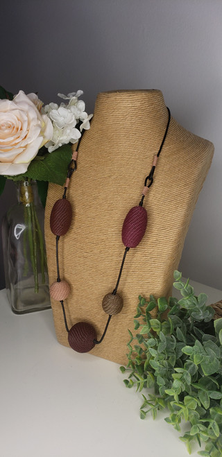 Telephone wire Necklace - Brandy Snaps