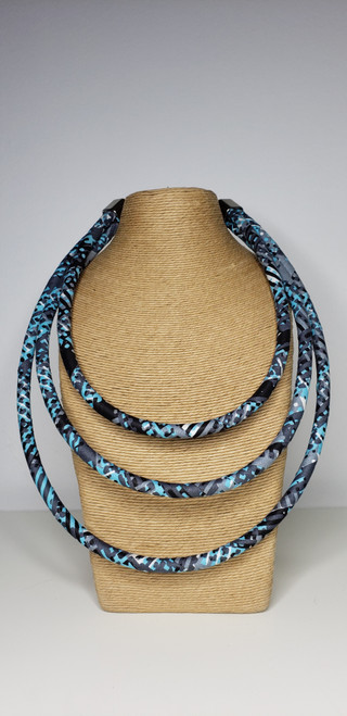 Kitenge Bib Necklace - 002