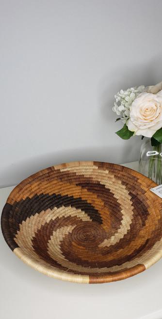 Vintage Botswana Basket - 002