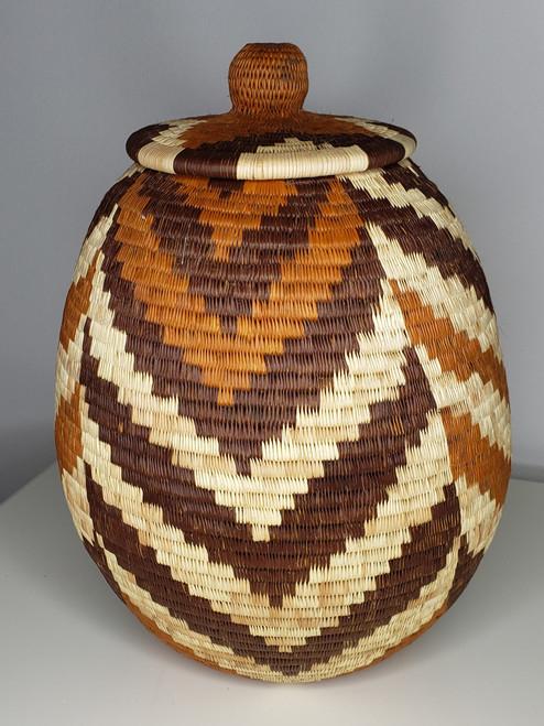 Vintage Botswana Basket - 001