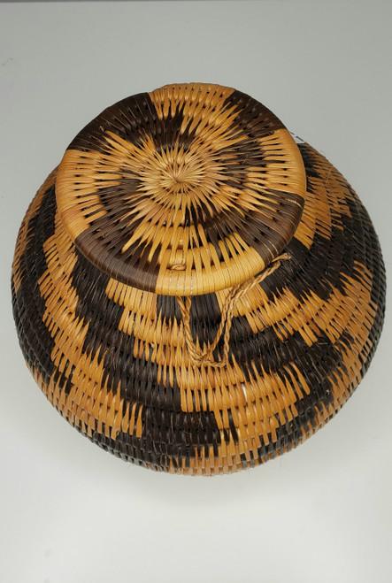 Vintage Botswana Basket - 005