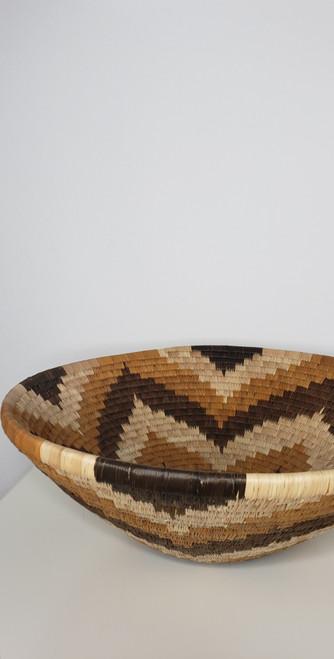 Vintage Bayei & Hanbukushu Handwoven Botswana Basket - 006