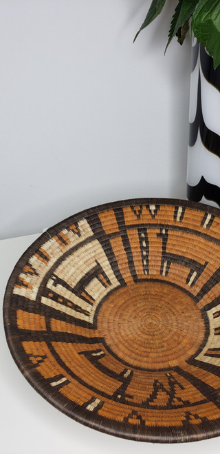 Vintage Bayei and Hambukushu Grass Basket - 14