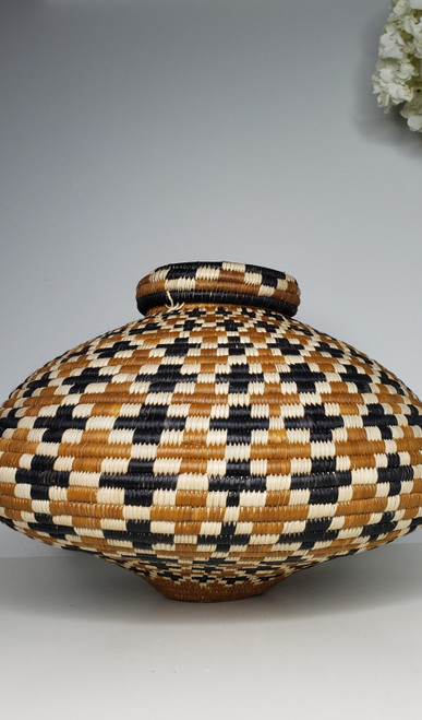 Zulu Ilala Shallow Palm Basket