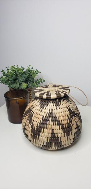 Vintage Bayei & Hanbukushu Handwoven Baskets - 009