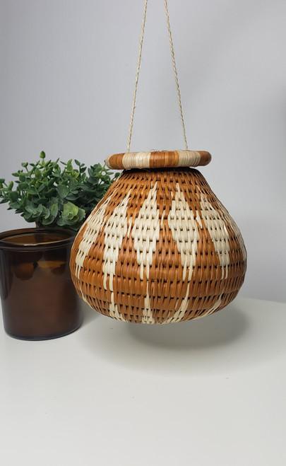 Vintage Bayei & Hanbukushu Handwoven Basket - 009