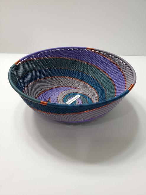 Telephone wire Medium Bowl - Purple
