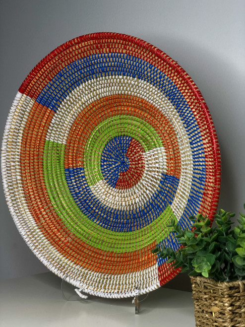 Senegalese Basket - Multi Coloured