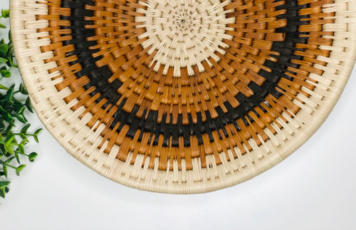 Vintage Bayei & Hanbukushu Handwoven Basket - 022