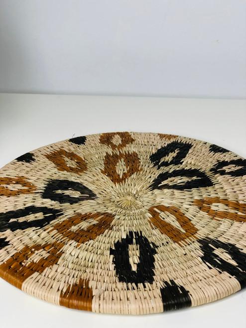 Flat Vintage Bayei & Hanbukushu Handwoven Basket - 023