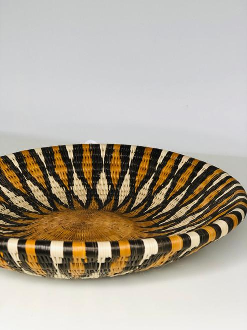 Vintage Bayei & Hanbukushu Handwoven Basket - 023