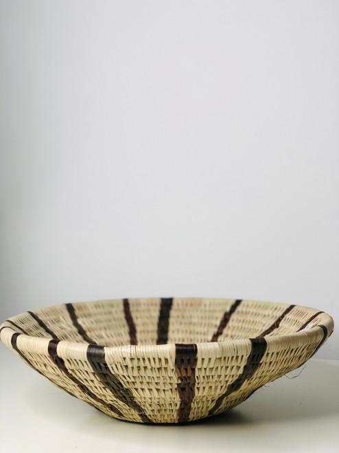 Vintage Bayei & Hanbukushu Handwoven Basket -