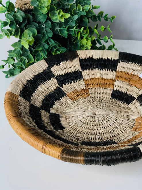 Vintage Bayei & Hanbukushu Handwoven Basket - 024