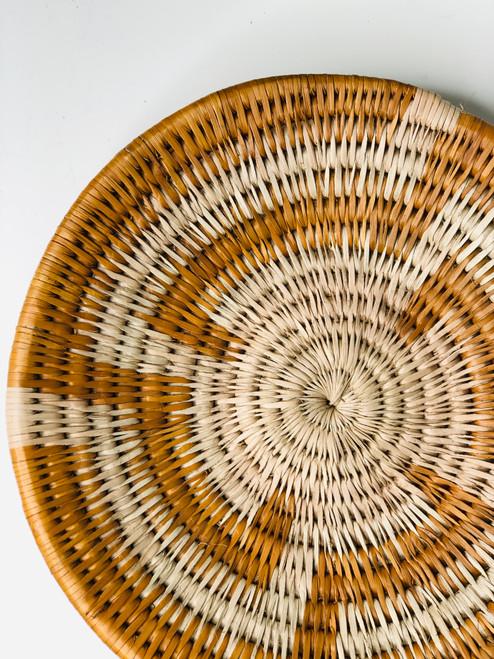 Vintage Bayei & Habukushu Handwoven Basket - 024