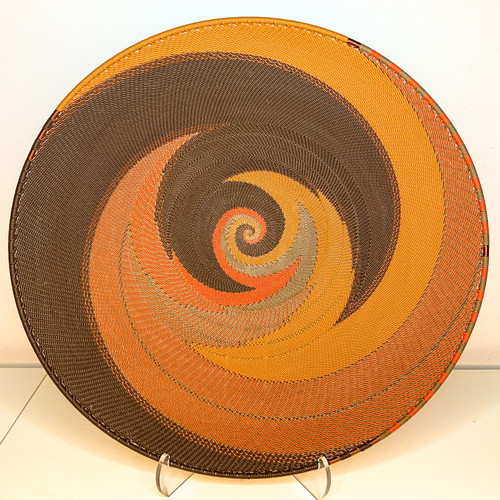Extra Large Open-V Plate - African Clay