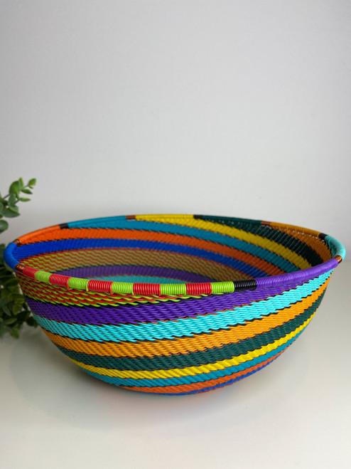 Telephone wire Global Bowl - Full Rainbow