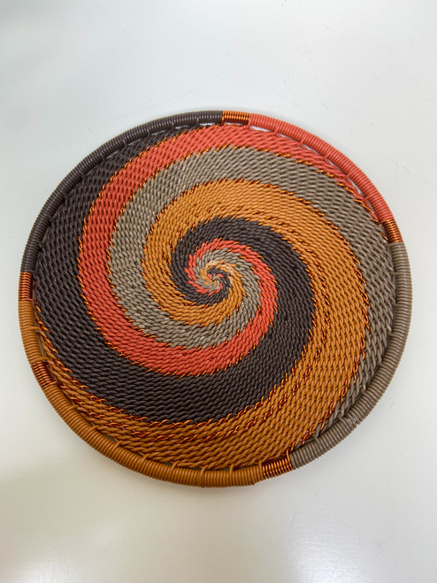 Telephone Wire Coaster - African Clay